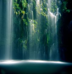 Mossbrae Falls, Dunsmuir, California Will be in this area this summer, would like to do this, but it seems as quite the hike to this.  Have to see if time allows.