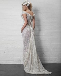 Sparkly Vivienne Westwood Wedding Dress