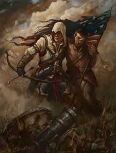 S creed creed game, assassins creed art, anime, videogames Assassin's Creed 3, Assassin's Creed Hidden Blade, Power Rangers, Connor Kenway, Assassins Creed Series, Assassin Names, Assassin's Creed Wallpaper, Desenho Tattoo, 3 Arts