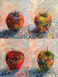 Paintings Using Tar Gel