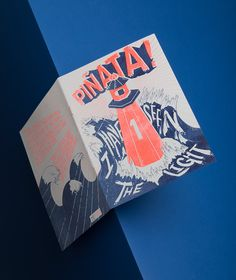 Contributors have a bash at two-tone illustration for collaborative zine Piñata!...  http://www.we-heart.com/2015/04/09/pinata-illustration-fanzine/