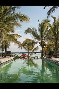 One of the swimming pools at Ibo Island Lodge, Mozambique, photo by Photography by Olaf Otto Becker for the WSJ