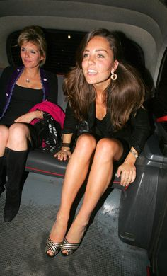 Something Kate and I have in common--we both look the same after we've had too much to drink.
