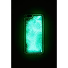 Forever21 Glow Phone Case for iPhone 6/6s ($8.90) ❤ liked on Polyvore featuring accessories, tech accessories and forever 21