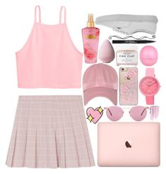 """""""♥ catfishhhhh ♥"""" by casey-yolo ❤ liked on Polyvore featuring Big Bud Press, Oliver Peoples, Skinnydip, Crayo, Victoria's Secret, Herbivore, River Island, Vans and Trish McEvoy"""