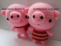 Seriously Cute Crochet I ebook 25 amigurumi crochet by anapaulaoli, $20.00
