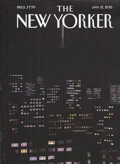 The New Yorker magazine January 12 2015