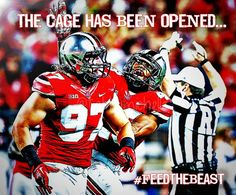 THE CAGE HAS BEEN OPENED, FEED THE BEAST. JOEY BOSA #97.