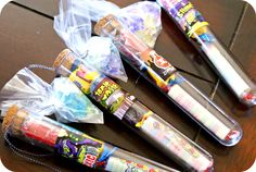 Mad Science Birthday Party Favors