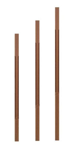 Contemporary 5034 Elegant Rise Chamfered Square Top Baluster