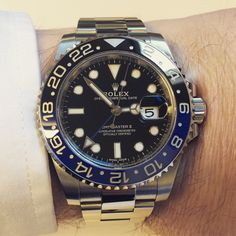 Men's Watches, Luxury Watches, Watches For Men, Rolex 116234, Wear Watch, Timing Is Everything, Rolex Gmt Master, Gold Watch, Geek Stuff