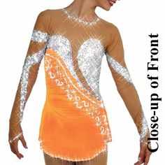 Style #79-10 figure skating dress