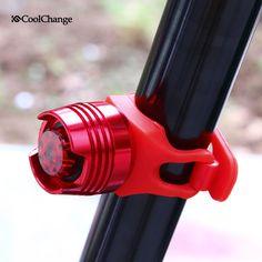 방수 자전거 자전거 사이클링 전면 후면 테일 헬멧 레드 플래시 조명 안전 램프 경고 안전 자전거 빛 액세서리
