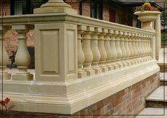 Hampton Balustrade, Stone Balustrade, Baluster, Stone Baluster ...