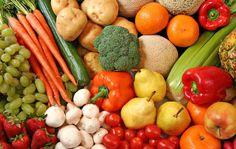 September 2016 - Vegetarian Diet: Vegetarians enjoy a diet of grains, pulses, nuts, seeds, vegetables and fruit with some also choosing to include dairy Blood Pressure Diet, Blood Pressure Remedies, Sugar Detox, Fresh Fruits And Vegetables, Healthy Vegetables, Veggies, C'est Bon, Food Lists, Organic Recipes