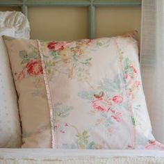 Our Shore Rose Pillow Sham has beautiful cabbage roses scattered on a soft petal pink background. Available in Standard, Euro and King Pink Pillows, Pink Bedding, Floral Pillows, Rose Cottage, Shabby Chic Cottage, Euro Shams, Pillow Shams, Joss And Main, Rose Petals