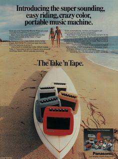 Panasonic Take N Tape June 73 Ad by teddy_qui_dit, via Flickr