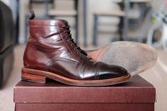 Carmina #8 shell cordovan Jumper boots.