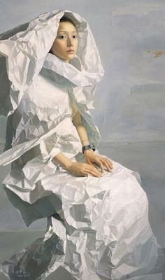 ▴ Artistic Accessories ▴ clothes, jewelry, hats in art - Zeng Chuanxing