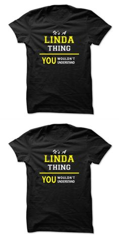 LINDA First Name Women/'s T-Shirt Of Course I/'m Awesome Ladies Tee