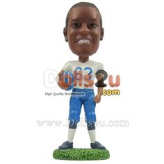Custom Bobbleheads Football - $79.90 Dolls2u - Custom Bobbleheads Sculpted From Your Photos