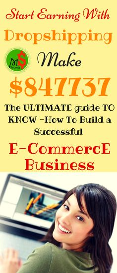 Work from home in 2017. Start dropshipping (E-commerce business) to make money from home. Dropshipping business is the one of best side hustle. Start your own e commerce business which is great way to make money from home. Click the pin to see how >>>