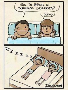 ¡¡ #TerriblesMisGanasDe dormir de cucharita !!