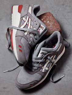 HAL X ASICS Brick & Mortar.    ~Love the styling on the shot~