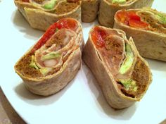 Neat Fiesta Rollups...made with Neat meat substitute