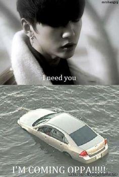 Pahahahahaha! xD #bap  That is how I felt the first time I saw the MV