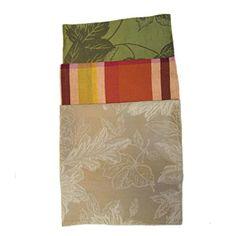 Fall Trio Cloth Dinner Napkins Sets Plaid,Basil,Khaki 12p... https://www.amazon.com/dp/B01G4KSI58/ref=cm_sw_r_pi_dp_SNgFxbYF3MFG5