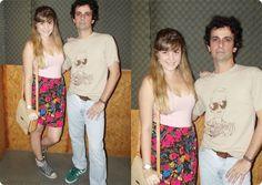 Look de Casal: Cartola   Flores