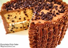 Chocolate Chip Cake Recipe | My Cake School