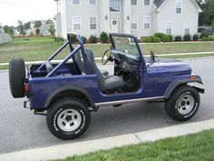 The second best looking Jeep! Jeep Cj7, Jeep Wrangler, Jeep Photos, Antique Cars, Vintage Cars, Classic Cars, Monster Trucks, Jeeps, Vehicles