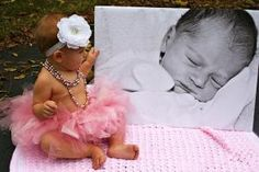 first birthday photo ideas. rustic baby pictures. simple girl photo shoot by Dzso