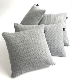 New collection, interior pillows. Honeycomb 60x40cm and 50x50cm www.studiohuq.nl, Soon available. Info; info@studiohuq.nl