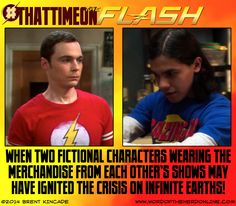 "#ThatTimeOnTheFlash 01 - ""The Big FLASH Theory"" by Brent Kincade Produced for Word of the Nerd Online  #TheFlash #TheBigBangTheory"