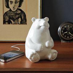 Ceramic Bear Speaker | west elm