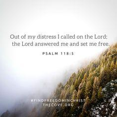 PSALM 118:5 My favorite
