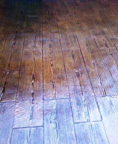 Pavimento de hormig n impreso textura piedra con ankare - Pavimento de corcho ...