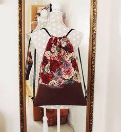 #diy #bag #retro #vintage #flowers #design #turnbeutel #handgemacht #handmade #blümchen #blogger #hipster #lether #leder #gymbag #festivalstyle #festival #boho #bohemianstyle #hippie #soretro #red #brown by day.drea.ms