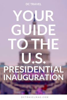 Start planning your trip to Washington DC for the Presidential Inauguration. From ballgowns to parties and soirees, parades to getting an invitation to the ceremony, history and day of events, you won't want to miss the start of a new presidency in the U.S.A. Dig into the best casual outfit to wear, DC hotels, AIrbnb rentals and more. Even if you are only watching at home, you will understand what is happening a bit more.