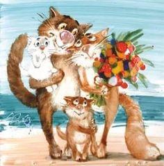 анатолий ярышкин. коты картинки: 816 изображений найдено в Яндекс.Картинках