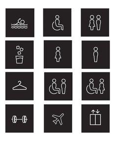 ALT Signage. by Kristin Matte, via Behance