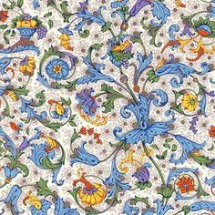 Florentine Paper Gift Wrap Cornucopia Italian Decorative Paper