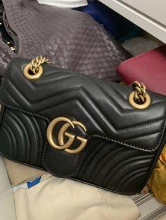 c129ec870f0a gucci marmont bag black Gucci Marmont Matelasse, Gucci Marmont Bag, Gg  Marmont, Gucci