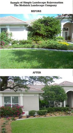 """Property Rejuvenation -- The Mednick Landscape Company -- Palm City, FL 34990    Another one of our specialties is property rejuvenation.  Oftentimes we have new clients who have not had a landscape maintenance company previously, or didn't keep up with their yard on their own.  We have tons of experienced in """"rejuvenating"""" yards and can come up with a great plan to rehabilitate your yard too."""