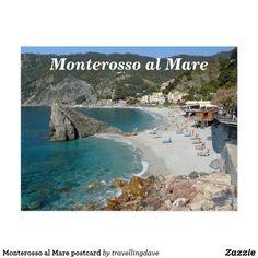 Monterosso al Mare postcard