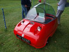 [12 Pictures] The Cute Bubble Cars from the 1950's