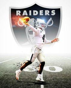Oakland Raiders Los Angeles Raiders Silver and Black Derek Carr Raiders Vegas, Raiders Stuff, Raiders Baby, Football Memes, Sport Football, Raiders Los Angeles, Raiders Wallpaper, Derek Carr, Oakland Raiders Football